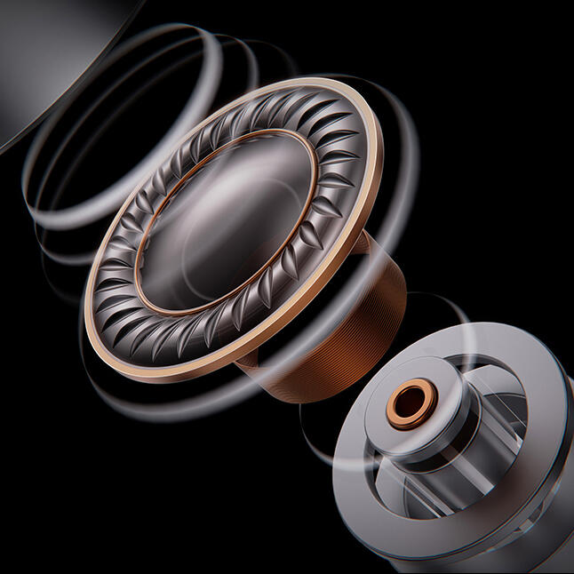 Kylin HE03AL 10.2mm複合素材ダイヤフラムDD&KnowlsTWFK-30017BA搭載のハイブリッド構成